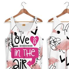 Fishikii Love is in the Air Tank-Top for Women
