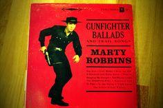 Flea market haul  Marty Robbins - Gunfighter Ballads and Trail Songs  #vinyl
