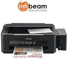 Epson All-in-One Inkjet Printer L210 (Black) at Rs.9393 Free Shipping – Infibeam