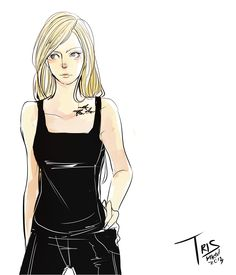 Tris Prior - almost exactly how I imagined her!