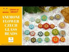 Video! ANEMONE 14mm  Flower Czech Glass Beads - New Arrivals     #dawanda #dawanda_de #dawandashop #etsy #etsyshop #etsystore #etsyfinds #etsyseller #amazon #amazondeals #alittlemercerie #anemone #anemoneflower #flowers #flowerbeads #flowerjewelry #flowerdesign #czechbeads #glassbeads #czechglassbeads #czechglassjewelry