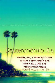deuteronômio, love, amor, lord, heart,