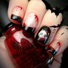 Love the tips and the blood. Personally I can't stand hello kitty so that would have to go and be replaced with something not so childish. love the look of everything else though.