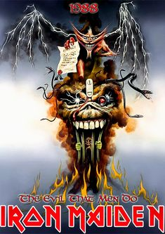 Iron Maiden - The Evil That Men Do, 1988