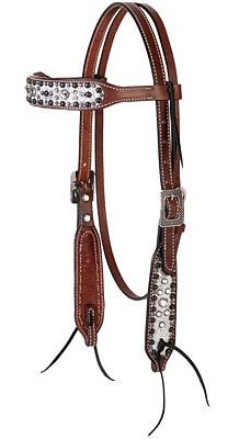 Stacy Westfall Showstopper Browband Headstall | ChickSaddlery.com