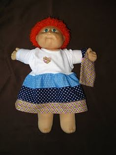 Cabbage Patch Kid dress...