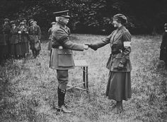 Brooke, John W - First Aid Nursing Yeomanry- Given Military Medal- For Bravery [All Women who were honored at www.fany.org.uk/medals]  (Prop- GB- WWI)