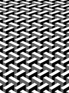 Design Movements - Op Art - Everything you Need to Know. Geometric Patterns, Graphic Patterns, Geometric Designs, Cool Patterns, Textile Patterns, Geometric Shapes, Print Patterns, Monochrome Pattern, Black White Pattern