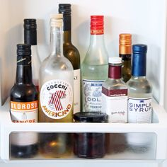 The Bar Cart Staples You Should Be Refrigerating but Probably Aren't: Open your fridge and take a peek inside; chances are, the only alcohol stored within its frosty confines is a bottle of bubbly or white wine and a bottle of vodka tucked deep into your freezer.