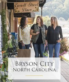 VIRTUAL TOUR - Downtown Bryson City Shopping, Restaurants and Lodging Virtual Tours. Discover great shops, dining and wonderfully unique places to stay in Downtown Bryson City NC. North Carolina Resorts, Bryson City North Carolina, North Carolina Waterfalls, Bryson City Nc, North Carolina Usa, Living In North Carolina, North Carolina Mountains, Fontana Lake, Summer Cabins