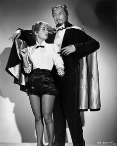 """Vincent Price in """"The Mad Magician"""" (1954)."""