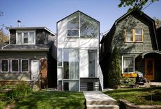 Homes in Toronto Canada  ( Photo credit: Tom Arban ).