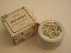 Vintage Avon Honeysuckle Cream Sachet - my sister's favourite scent at the time.
