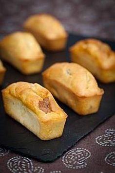 Mini cake aux dés de foie gras