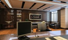 Luxury-CEO-office-modern-and-retro