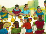 Daniel and his friends refuse to eat foods that God had forbidden. (Daniel 1:1-21)