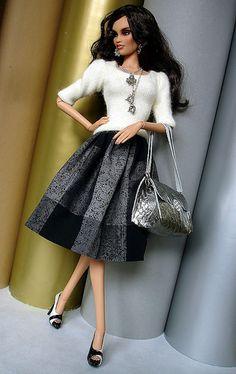 Barbie Fashionista, Barbie Clothes Patterns, Doll Clothes, Fashion Royalty Dolls, Fashion Dolls, Vintage Barbie, Barbie Mode, Diva Dolls, Beautiful Barbie Dolls