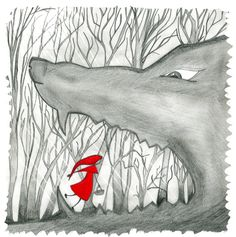 Design for our fairytale soapline: Red Riding Hood