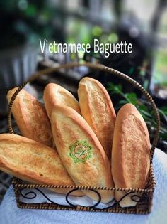 The easiest Vietnamese Baguette recipe : Bánh Mì Recipe by Linda Hiền Hoà Vietnamese Baguette Recipe, Vietnamese Recipes, Vietnamese Food, Banh Mi Baguette Recipe, Korean Food, Banh Mi Recipe, Bread Recipes, Cooking Recipes, Diet Recipes