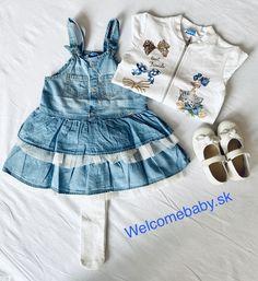 Skirt dungarees for girl. Baby Girl Dresses, Baby Dress, Dungarees For Girls, Condor, Denim Skirt, Dress Skirt, Rompers, Skirts, Fashion