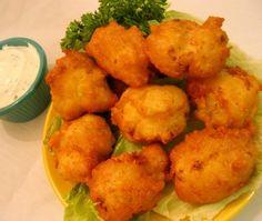 Cauliflower Cheddar Bites