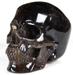 Nov 2014 ACSAD (A Crystal Skull a Day) - The Crystal Skull Protector - Black Quartz Rock Crystal Carved Crystal Skull Sculpture Quartz Rock, Black Quartz, True Nature, Crystal Skull, Large Crystals, Smoky Quartz, Quartz Crystal, Skulls, Brazil