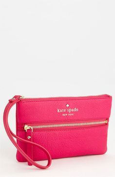 kate spade new york cobble hill - bee wristlet available at Nordstrom Clothing, Shoes & Jewelry : Women : Handbags & Wallets : http://amzn.to/2jE4Wcd