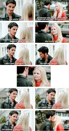 """Emma and Hook - 4 * 19 """"Lily"""" #CaptainSwan"""
