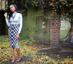 Crop Tops & Fall Fashion - love the business look it has to it!