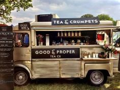 *~* Tea & Crumpets truck .... oh yeah