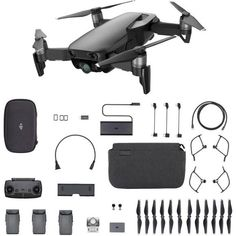 DJI Mavic Air Fly More Combo Quadcopter - Foldable, Pocket-Portable Drone - Arctic White - for sale online Buy Drone, Drone Diy, Small Drones, Drone Remote, Latest Drone, Foldable Drone, Cable Lightning, Thing 1, Dji Spark