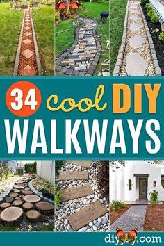 Cheap Patio Pavers, Patio Diy, Backyard Walkway, Outdoor Walkway, Budget Patio, Backyard Landscaping, Outdoor Decor, Patio Ideas, Walkway Ideas
