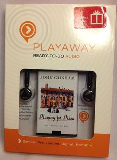 New Playing for Pizza by John Grisham - PLAYAWAY Ready To Go AUDIO BOOK
