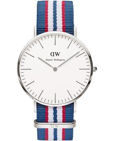 DANIEL WELLINGTON Belfast Multicolor Nato Strap. We strongly endorse Daniel Wellington watches.