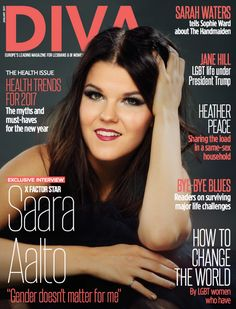 "Saara Aalto opened up about being X Factor's most successful LGBT woman in new interview: ""The talent show contestant became the only out woman to make the final 2 in the December final...The star revealed she's previously had relationships with men, but can't imagine doing so again now she's engaged to a woman. ""I've always known gender doesn't matter for me. But now, being with a woman, it's hard to imagine going back to men"""" (2016)."