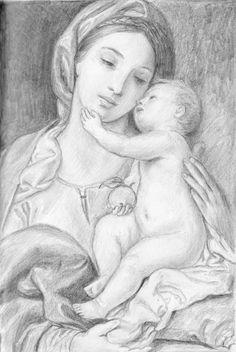 Madonna and Child by dashinvaine on DeviantArt
