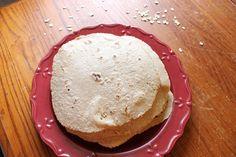 3-Ingredient Gluten-Free Oat Wraps