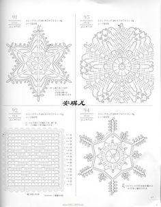 CROCHET - Lacework - Four seasons [JAP] - Maria M Castells - Picasa Web Albums