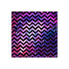 Girly Chevron Pattern Cute Pink Teal Nebula Galaxy Art Print (430 UYU) ❤ liked on Polyvore featuring backgrounds, pictures, fillers, patterns, tumblr, quotes, effect, wallpaper, borders and picture frame
