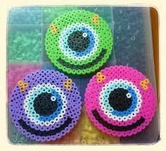 Hama Beads Coasters, Diy Perler Beads, Perler Bead Art, Easy Perler Bead Patterns, Melty Bead Patterns, Beading Patterns, Hamma Beads Ideas, Perler Bead Disney, Motifs Perler