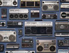 Vintage Audio Love Jim Golden Studio - Photographer - Portland OR - - Collections - 12 Boombox, Jim Golden, Radios, Things Organized Neatly, Radio Antigua, Music Artwork, Record Players, Photographic Studio, Audio Equipment