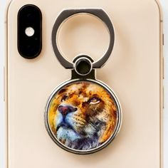 Ring Holders, Lion Ring, Kids Shop, Phone, Telephone, Mobile Phones, Kids Store, Baby Store
