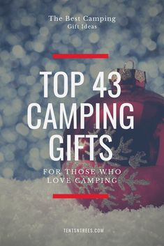 This holiday camping gift guide will give you the best camping gift ideas. These camping gifts will This holiday camping Kayak Camping, Camping Guide, Camping And Hiking, Family Camping, Camping Hacks, Airstream Camping, Camping Trailers, Camping Supplies, Backpacking Gear