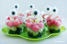 Fruity Little Flowers | OneCraftyThing.com