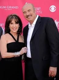 Dr. Phil and his wife (Robin)