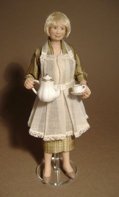 Handmade miniature Dolls, and Doll Clothing by Karin Smead