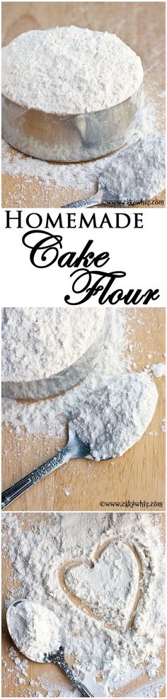 Free Flour Recipes For Baking Helpful Charts Cake flour is expensive. Learn to make CAKE FLOUR at home with just 2 ingredients! From Cake flour is expensive. Learn to make CAKE FLOUR at home with just 2 ingredients! Baking Tips, Baking Recipes, Baking Hacks, Flour Recipes, Cupcake Recipes, Cupcake Cakes, Just Desserts, Delicious Desserts, Do It Yourself Food