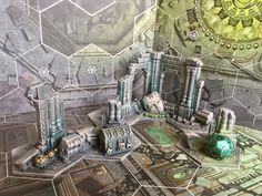Painting Inspiration, Makeup Inspiration, Warhammer Terrain, Warhammer Aos, Game Terrain, Wargaming Terrain, Fantasy Miniatures, Light Of Life, Miniture Things