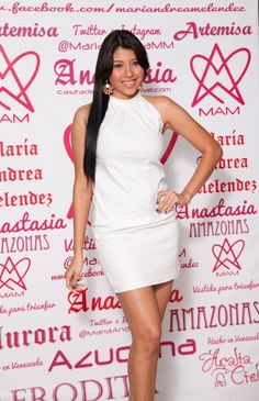 white clasic dress
