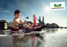 Pastorini Toy Store Print Advertisement by Lesch + Frei